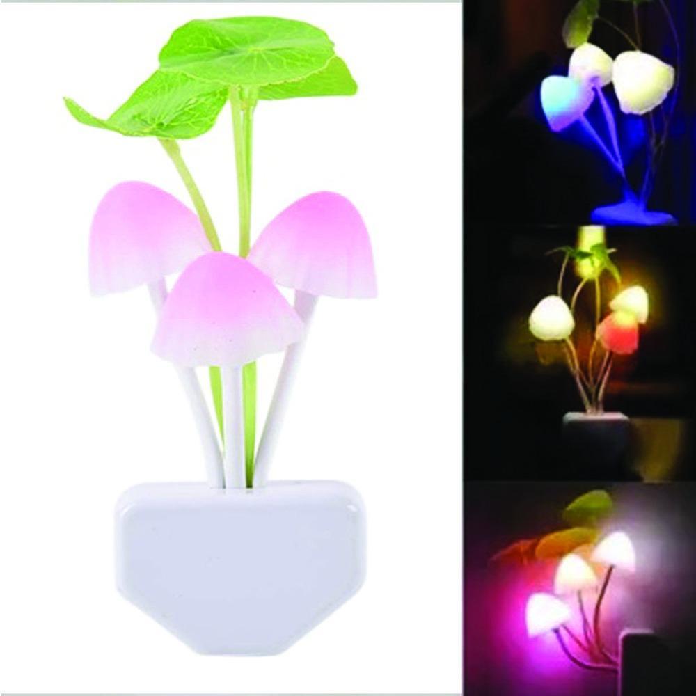 Lampu LED Hias Sensor Cahaya Motif Jamur