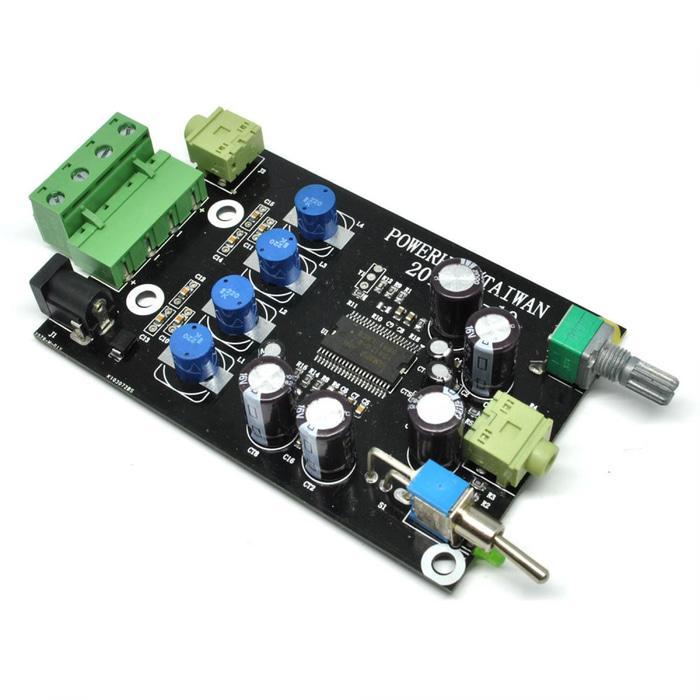 Terpopuler DIY Yamaha Digital Headphone Amplifier Board 2 x 20w 12V - YDA138-E