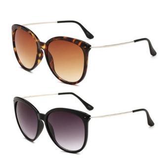Harga preferensial Marlow Jean Kacamata Wanita Fashion Sunglasses Anti UV  Kacamata Hitam Wanita terbaik murah - 8891ee5e3e