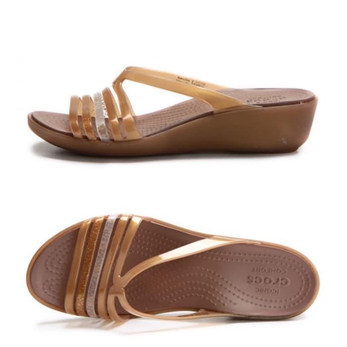 PROMO!!! Sandal Crocs Isabella Mini Wedges - mss4UI