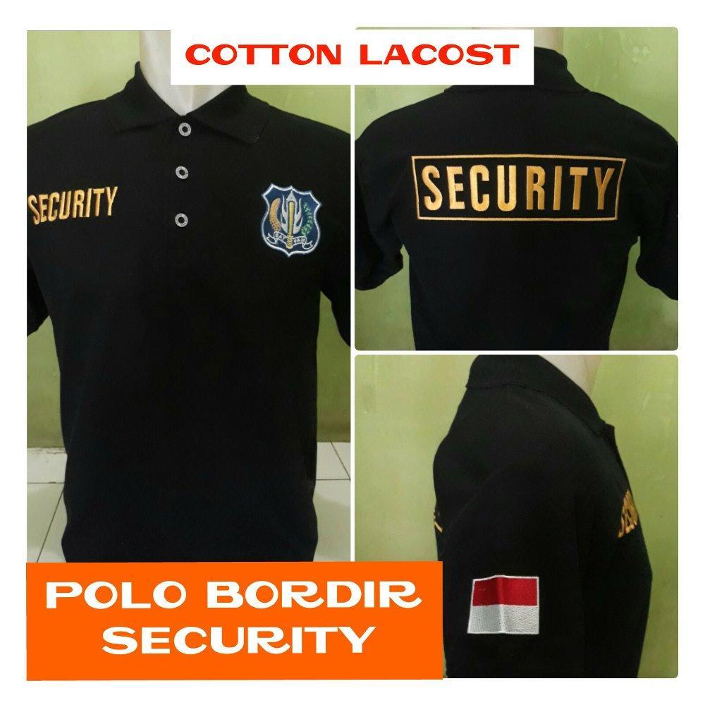 Kaos polo security satpam di lapak Fashion depok bahrudin_tanjung