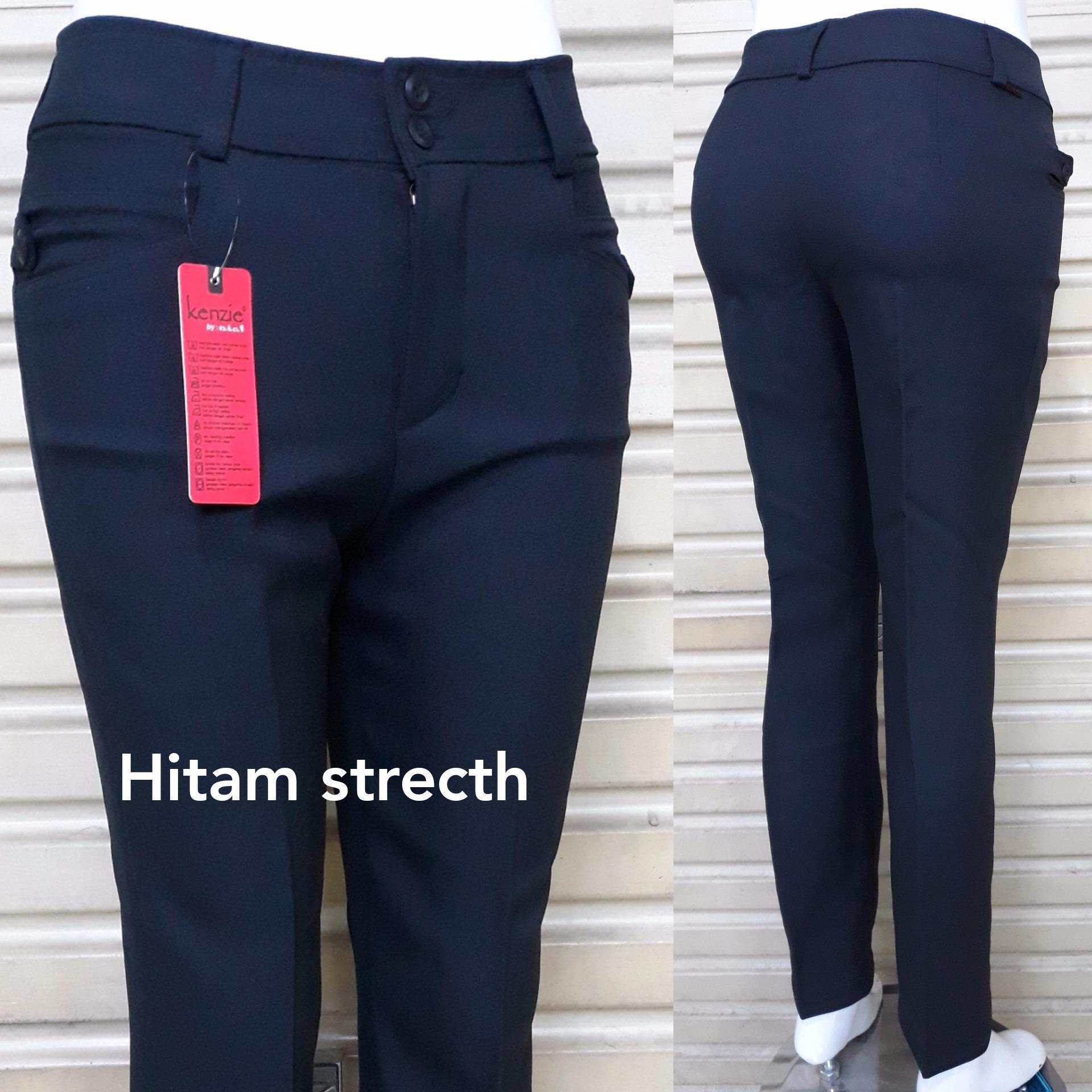 Celana formal/kerja wanita reguler bahan GRASELA STRECTH/MELAR bagus murah