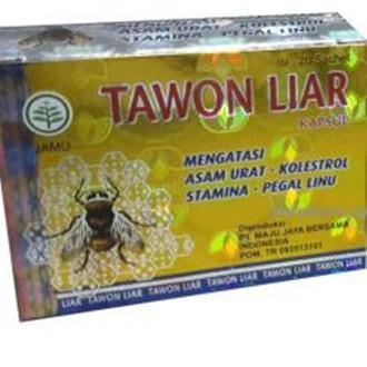 Tawon Liar Herbal Asam Urat dan Kolesterol - 20 Sashet