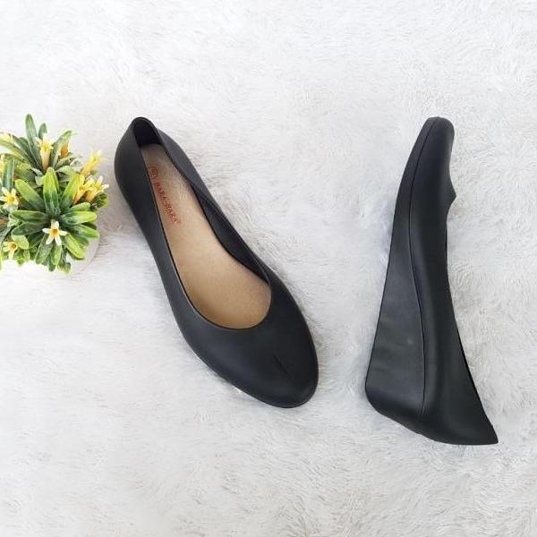 Bara-Bara Jelly Shoes Sepatu Wedges Wanita Import CE 15606 Warna Random