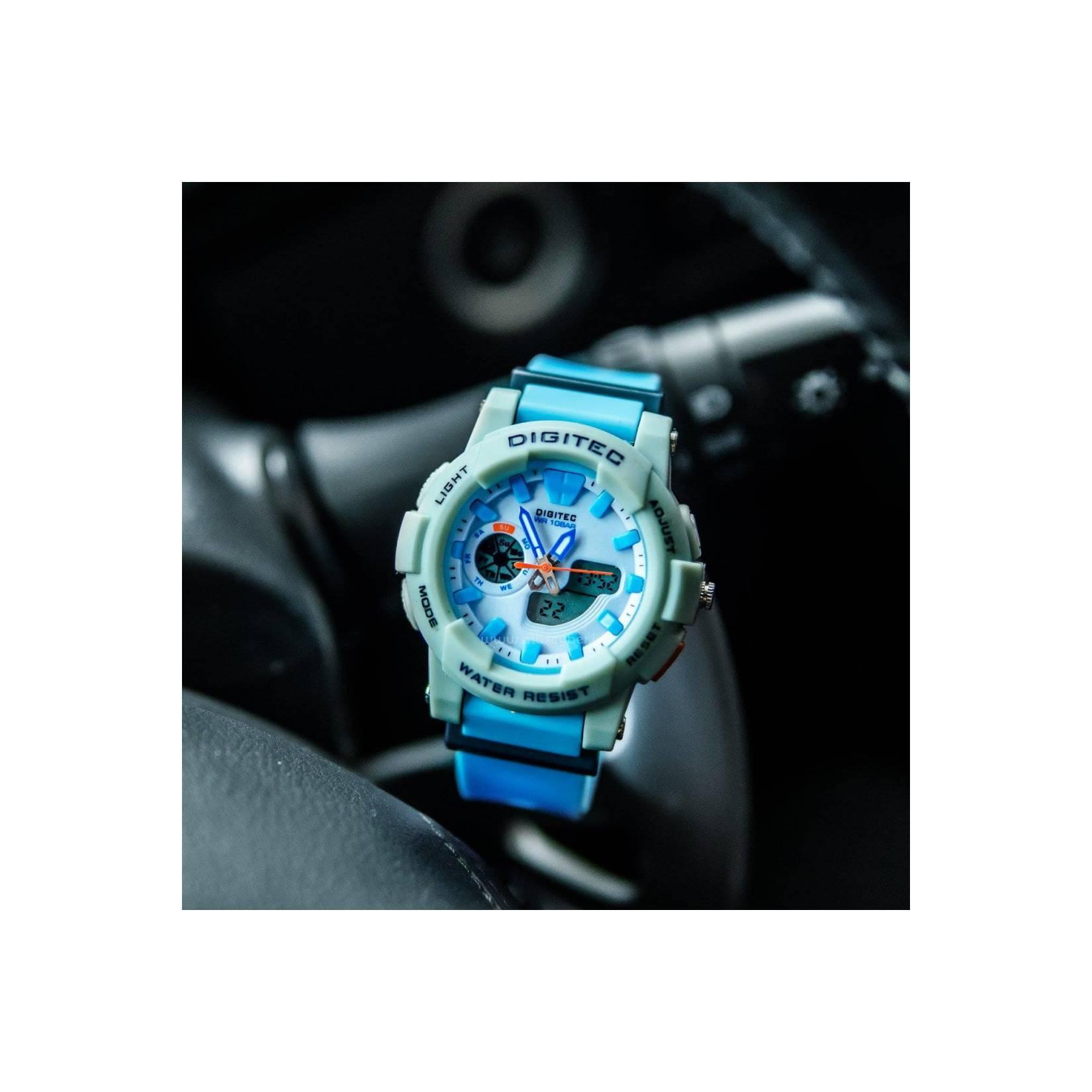 Jam Tangan Sport Ladies Bandung DIGITEC Original Alarm Stopwatch Aktif