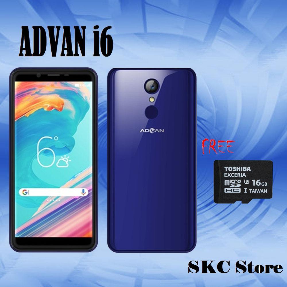 Advan i6 Smartphone - Blue [2GB/16GB] Bonus MMC 16GB