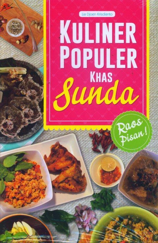 Kuliner Populer Khas Sunda - Buku Resep Masak By Sebelah_toko.