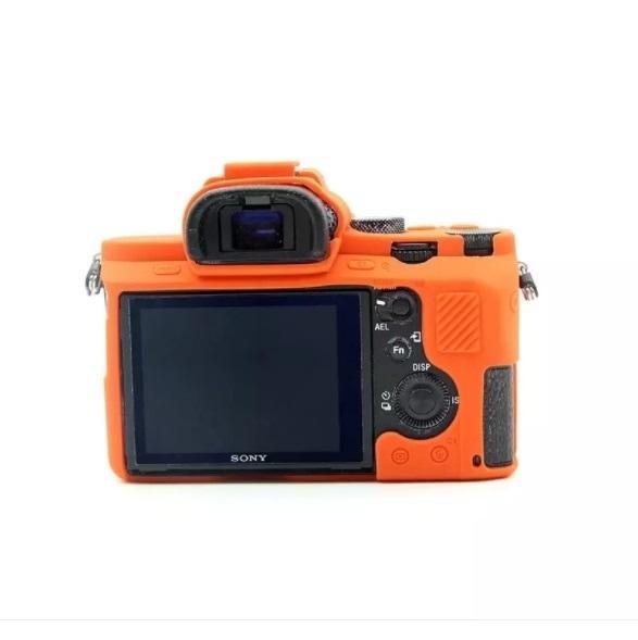 Promo Sony A7 II A7II A7R Mark 2 Silicone Camera Case Protective Body Cover original