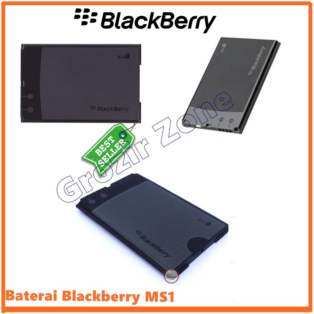Blackberry Baterai / Battery MS1 For Blackberry Onyx / 9700 / 9780 Original - Kapasitas 3000mAh