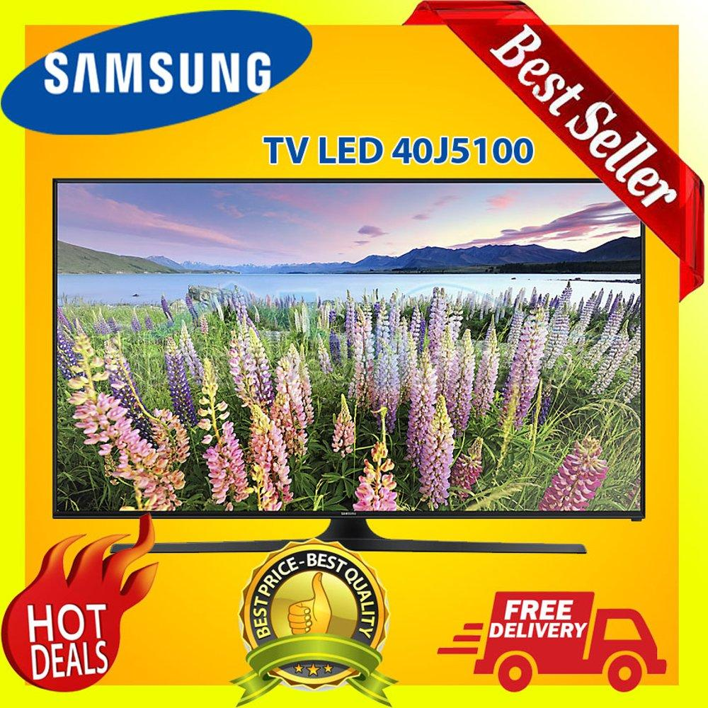TV Led Samsung 40 inch Full Hd Flat 40j5100 Garansi Resmi Harga Pabrik