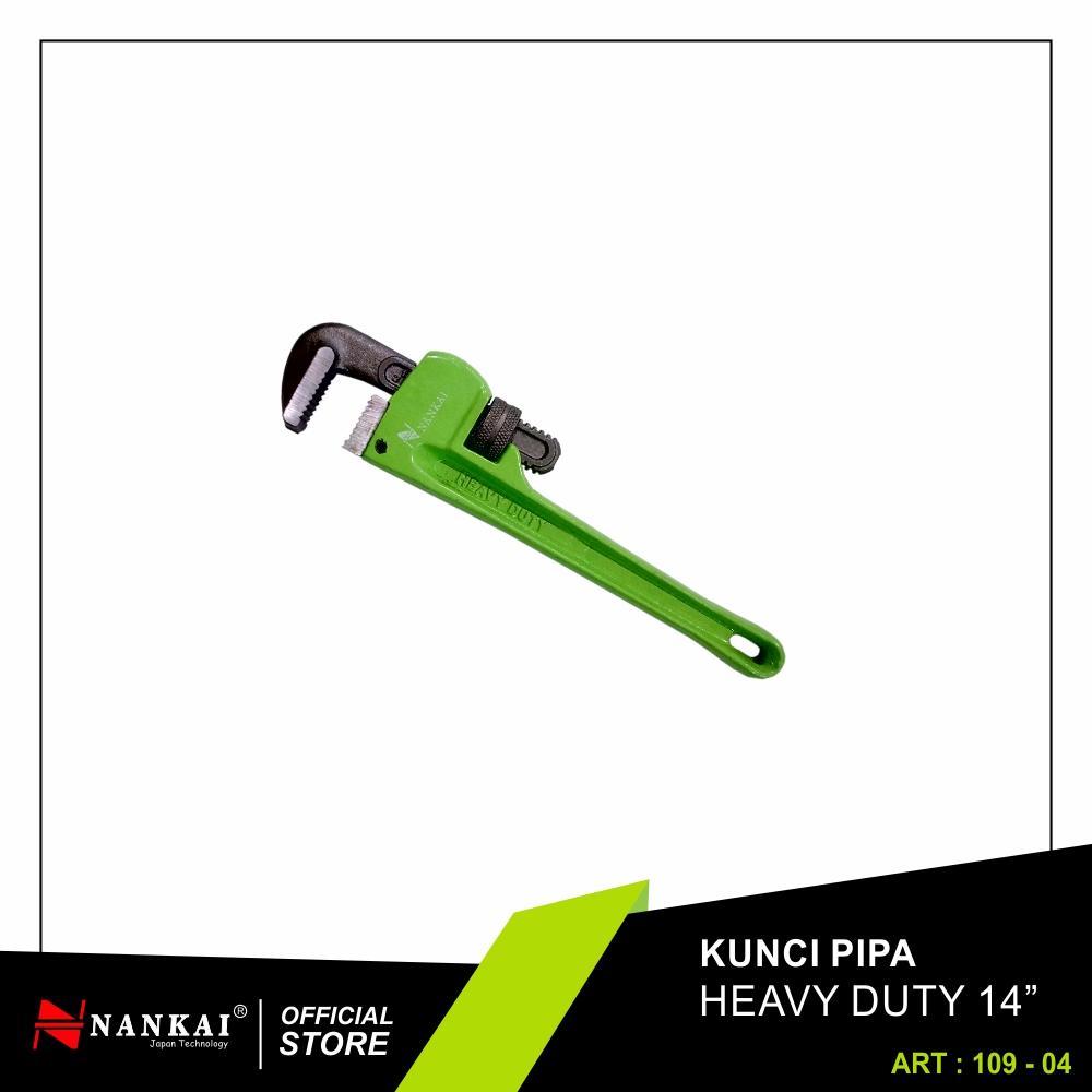 Nankai Kunci Pipa Heavy Duty 14 inci / Pipe Wrench - Perkakas Tool