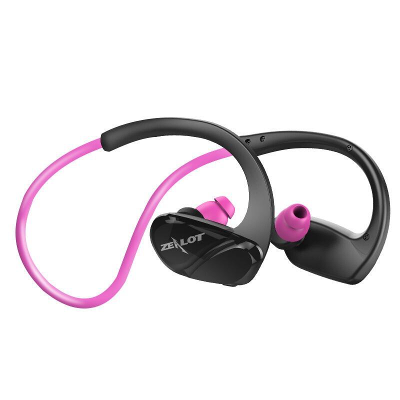 Zealot H6 Kebugaran Kedap Air Bluetooth Stereo HIFI Earphone Wireless Menjalankan Pelantang Telinga Olahraga dengan Mikrofon