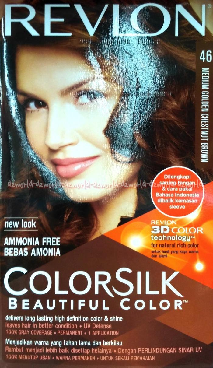 Revlon Colorsilk Hair Revlon Colorsilk No 46 Medium Golden Chestnut