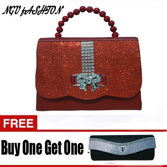 Tas Wanita   Tas Pesta Tas Kondangan fashion Tas Gliter Tas murah Party Bag  Free Tas b590c27085