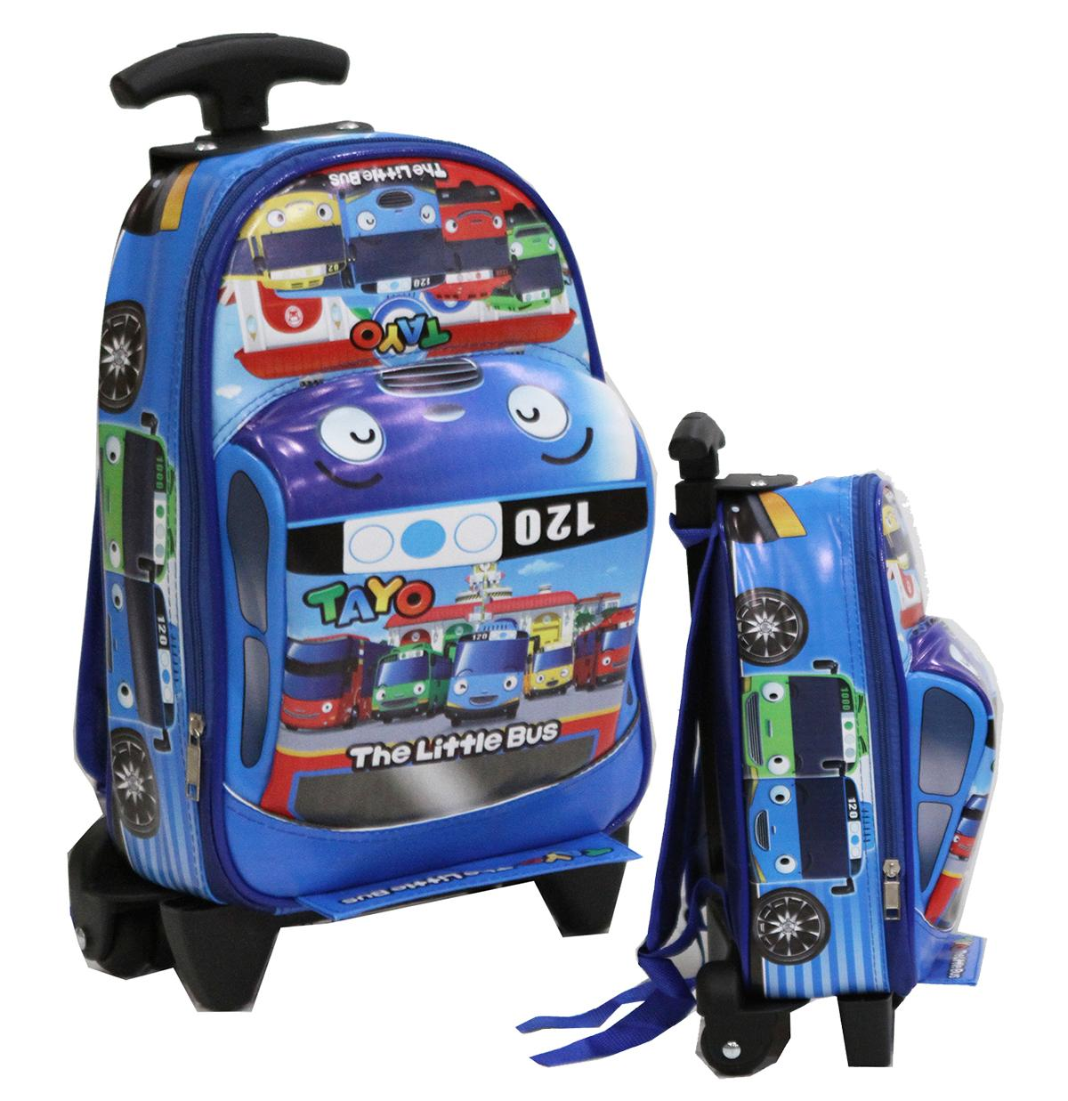 Onlan Cars Mcqueen - Batman - Tobot - Doraemon Tas Trolley Anak Sekolah Paud Bentuk Mobil Racing By Abadi Jaya.