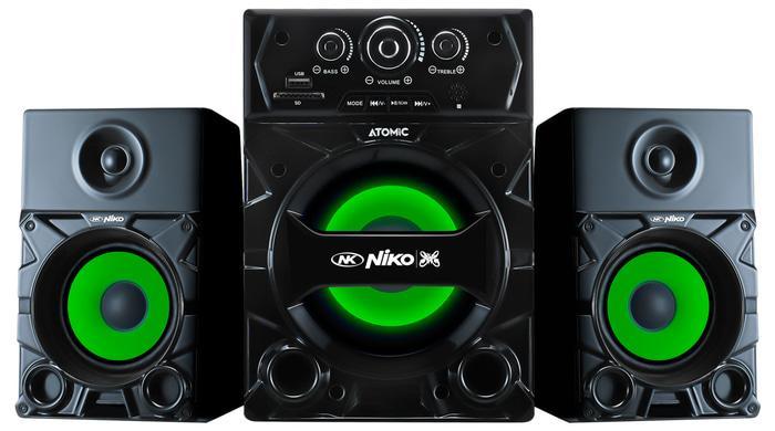 Niko Atomic Slank Speaker Aktif Multimedia 35 Watt Dengan Bluetooth