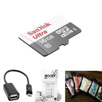 Pencarian Termurah Sandisk Ultra Memory Card [16GB/Class 10] Free Kabel OTG +