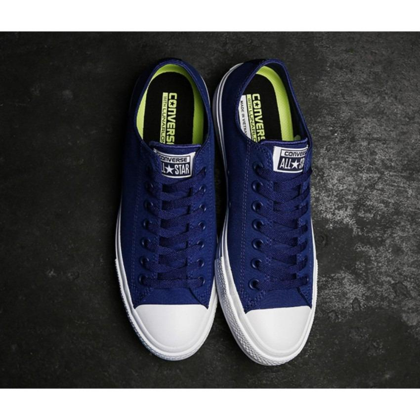 sepatu sneakers converse all star CT II Low Cut Street Style Unisex - Blue