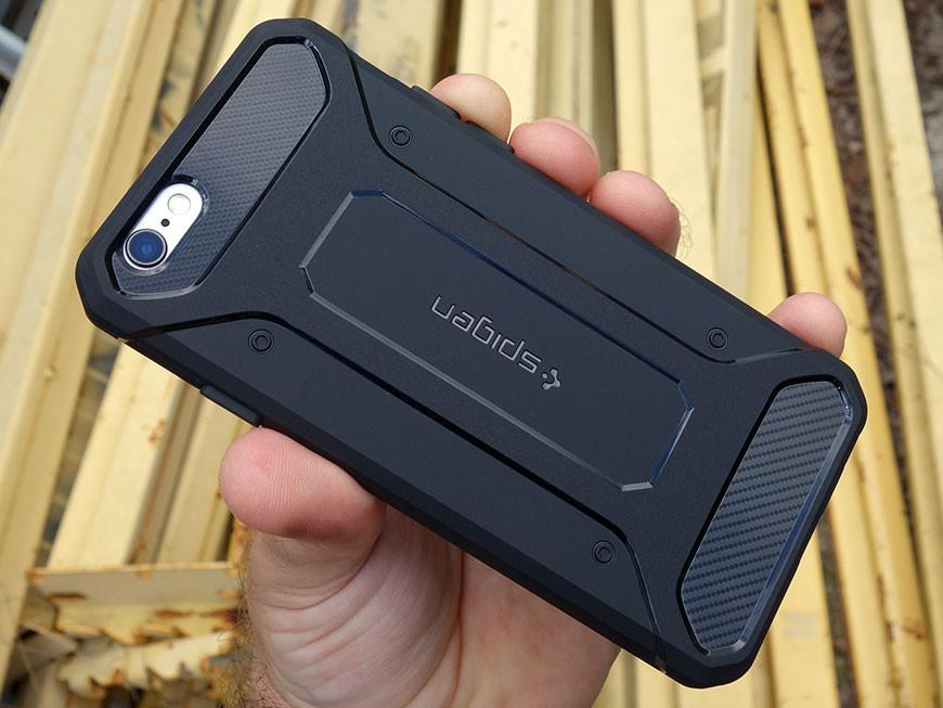 Iphone 6 / 6g / 6s Case SA Spigen Rugged Capsule Armor softcase Casing Icase