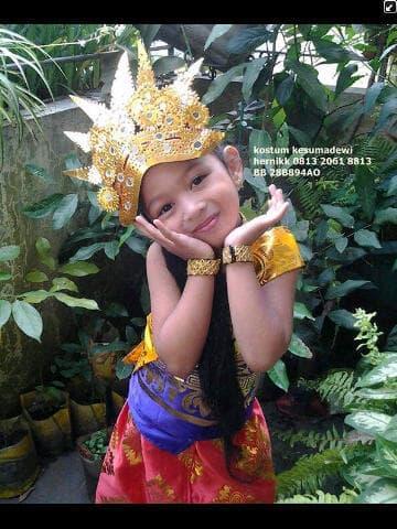 Promo: Daerah Bali Tk | Baju Adat Kostum Karnaval Pentas Seni Anak Wanita - ready stock