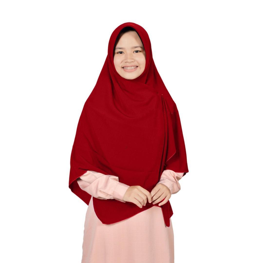Jilbab 2 Warna Zannah Hijab Kerudung Segi4 Polos Jumbo Syari Hijab Segi Empat Fashion Wanita Muslimah Untuk Pengajian Modern Model Sekarang Termurah Best Seller