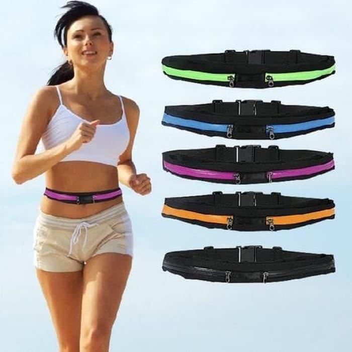 TERLARIS Tas Ikat Pinggang utk Lari / Olahraga / Running Waist Bag Belt TERMURAH