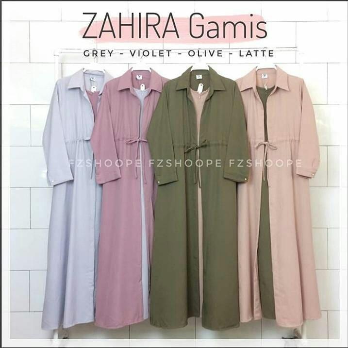 MC Zahira Dress Balotely Baju Gamis Wanita Muslim Panjang Supplier Maxy Termurah Fashion Hijab Syari Terbaru
