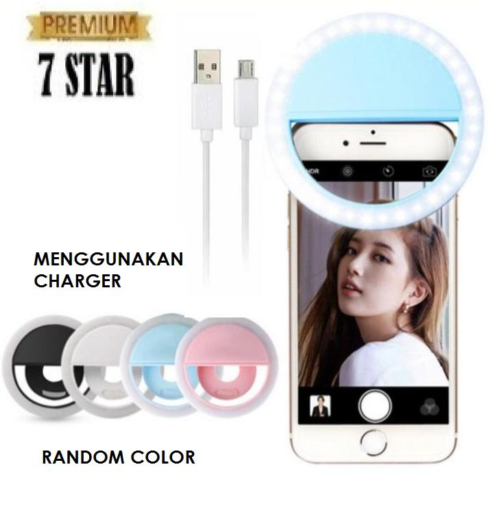 Lampu Selfie Portable Clip 7star Mini 36 Led Lampu Selfie Bulat Ring Lamp Fill In Light Night Lampu Selfie Ring Lighting For Universal Phone Outdoorfree With Usb Charger 1pcs By 7star Id.