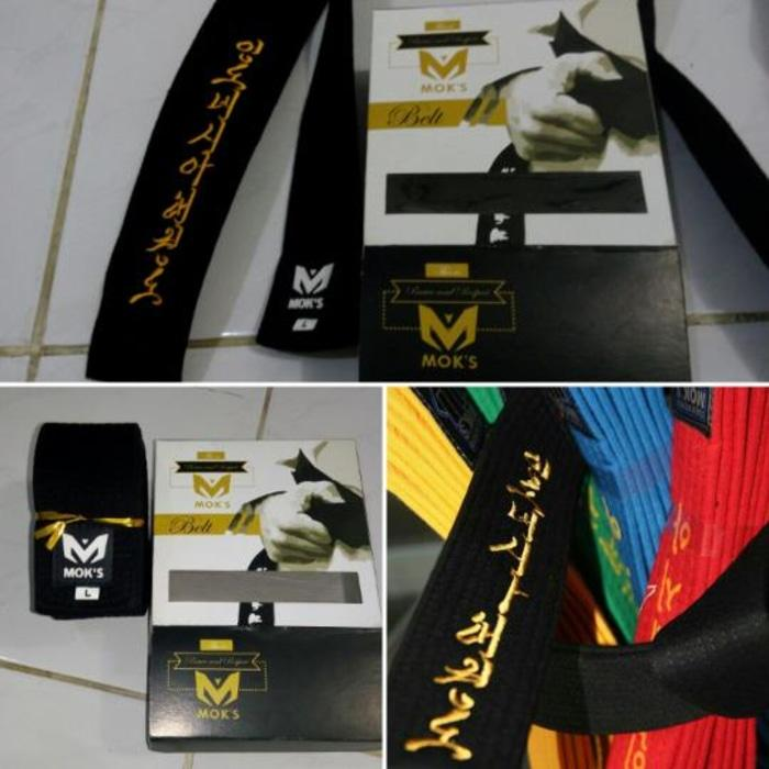 HOT SPESIAL!!! Sabuk Taekwondo Super Belt Moks - AulwJg