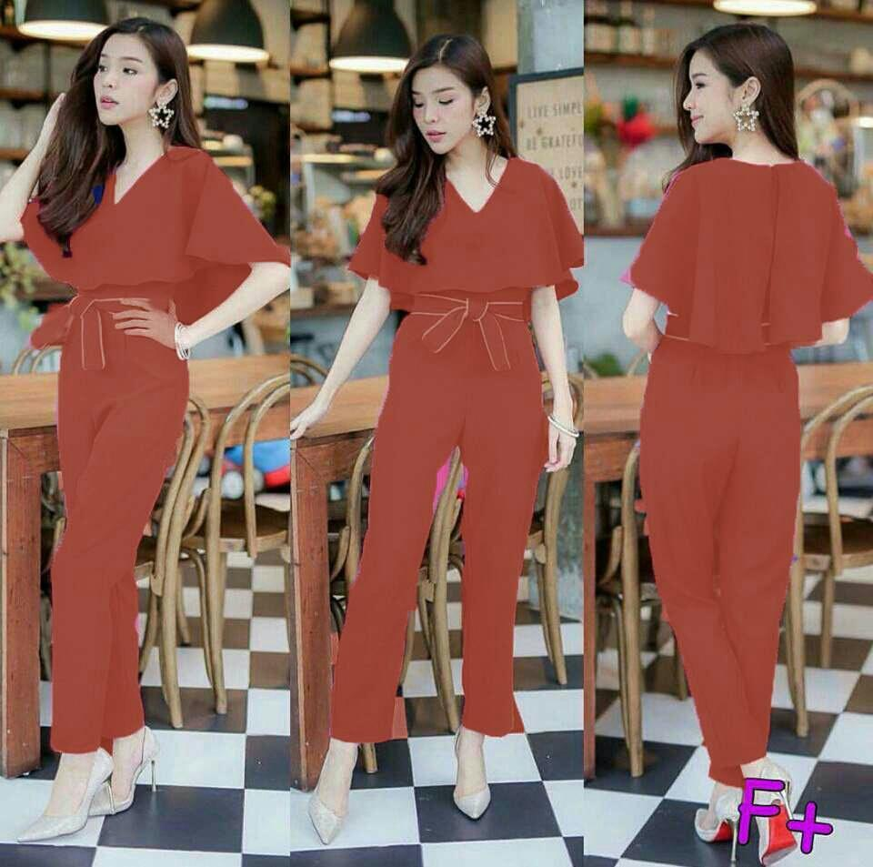 Glorious Holic Jamsuit Fantasi Pilih Warna Jamsuit Korea / Jamsuit Kulot / Jamsuit Batik / Jumpsuit