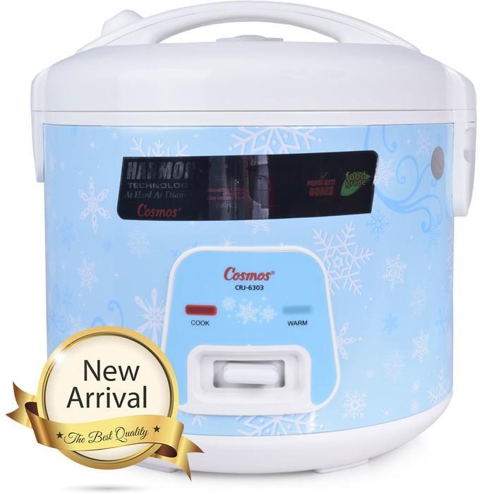 Cosmos Rice Cooker Magic Com Crj 6303 Cosmos - Kaw3an