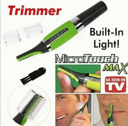 BEST SELLER!!! Microtouch max / Alat cukur kumis rambut jambang ketiak hidung - SZlPw3