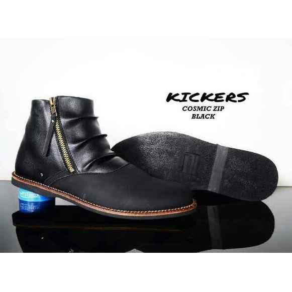 Kickers - Sepatu Boots Casual Kickers Zipper Cosmik