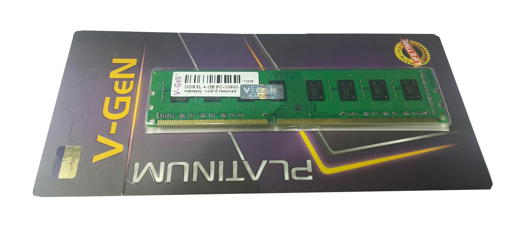 RAM DDR3 V-GeN 4GB PC10600/1333Mhz Long Dimm - Memory PC VGEN
