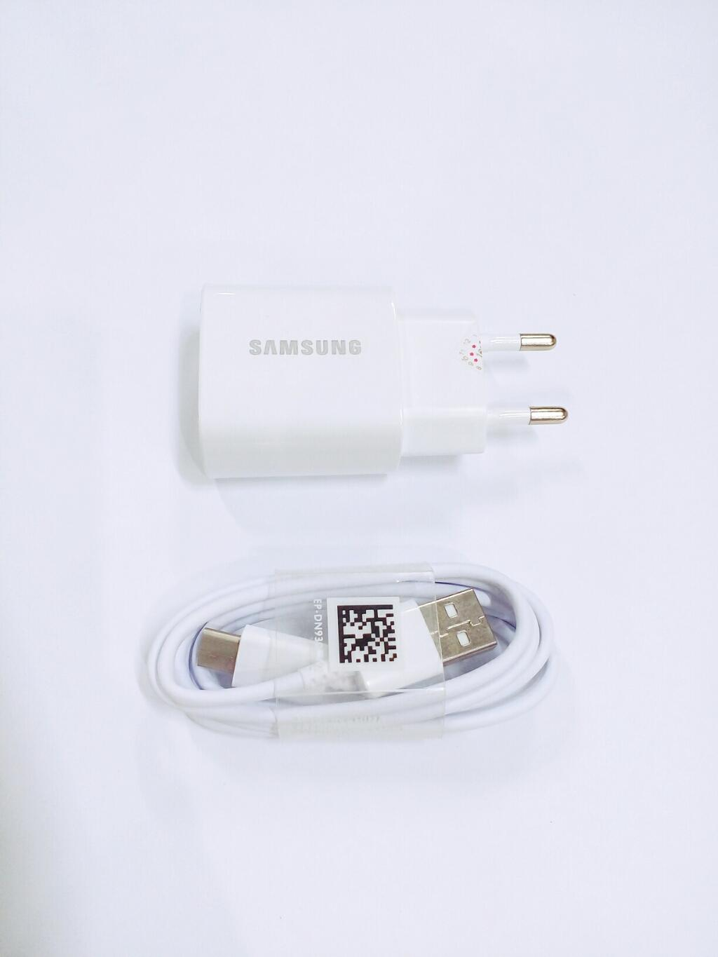 Samsung Galaxy Adapter Fast Charger 25 Watt With Type C For Galaxy Note 8 / Galaxy S8 Dan S8 Plus / Galaxy Note 9
