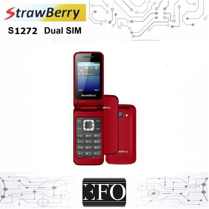 Strawberry ST3520 Flip Handphone - Camera - Dual SIM - Garansi 1 tahun Strawberry ST 3520
