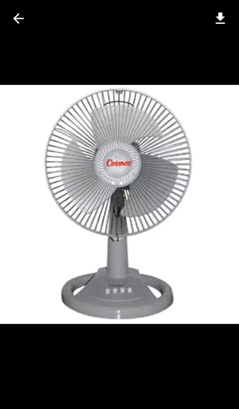 Cosmos Desk Fan 12 Inch 12 DSE / 12DSE - Bubble Wrap