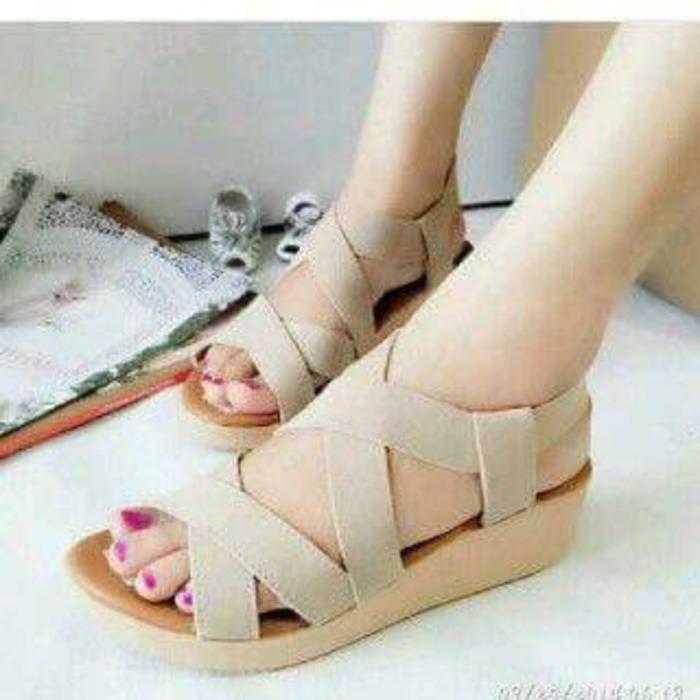 Jual sandal wanita wedges murah