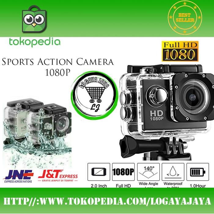 Kamera Sport 18 MP MEGA PIXEL Action Camera Original Actioncam Murah Terlaris di Lazada