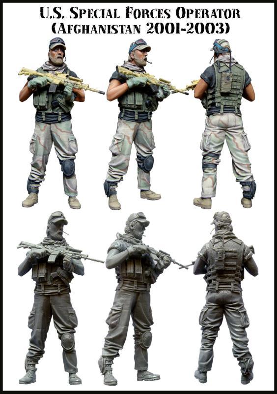 Grosir EM 35046 U S Special Forces Operator Afghanistan 2001 2003 - CuK7pN