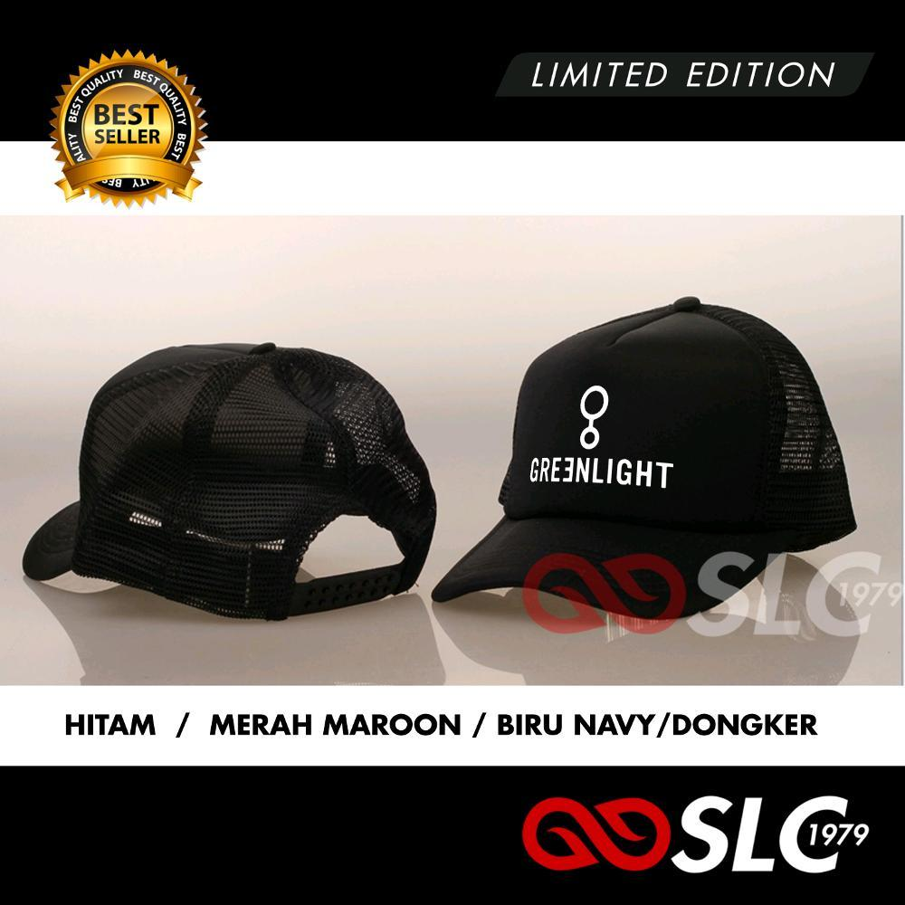 TOPI JARING TRUCKER GREENLIGHT TERMURAH RO28  - SLC