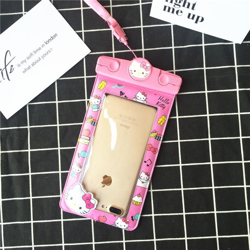 Mata Air Panas Sarung Anti Air Iphone7plus Kamera Bawah Air Handphone Tas Waterproof