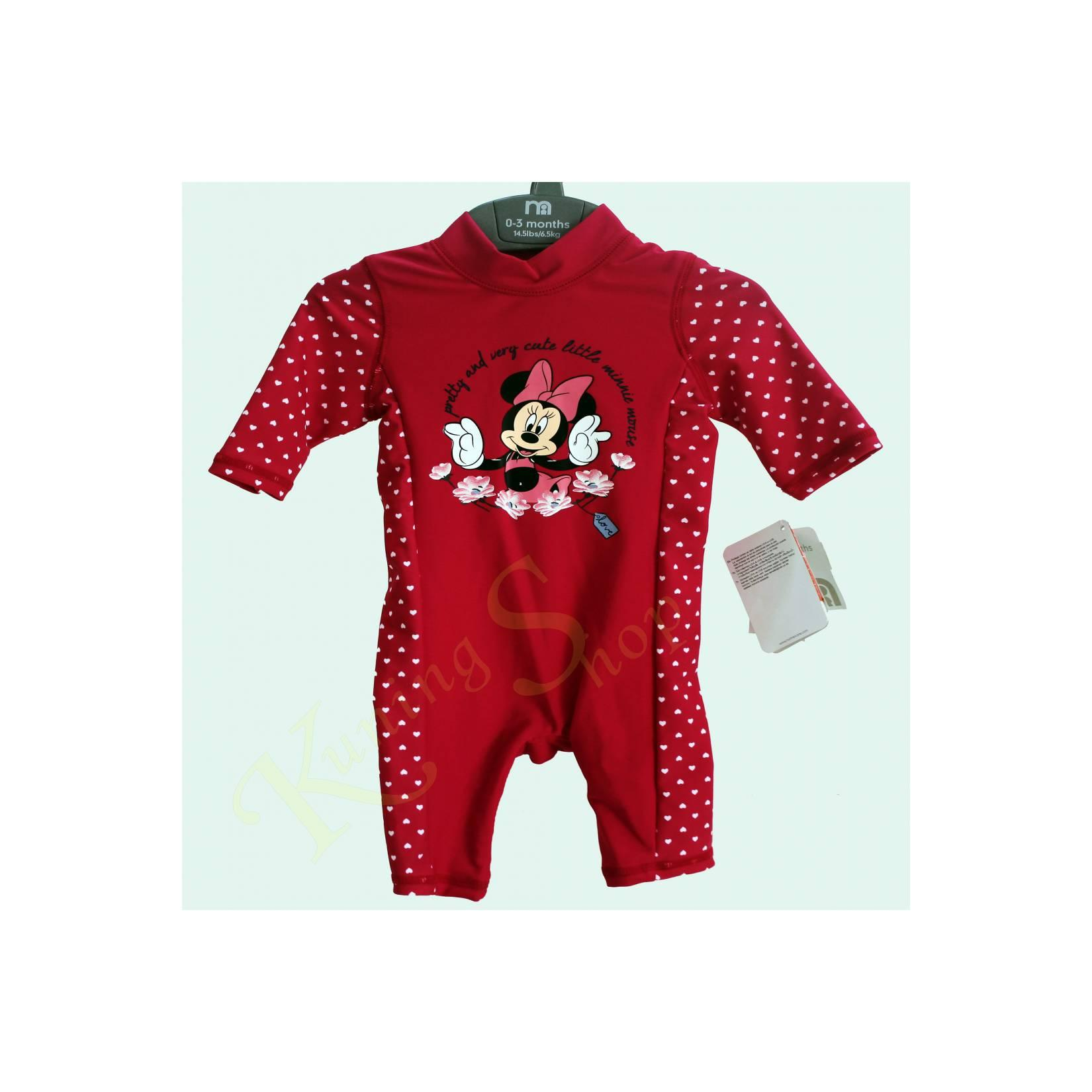 Mothercare Minnie Sunsafe Red (swiming suit)