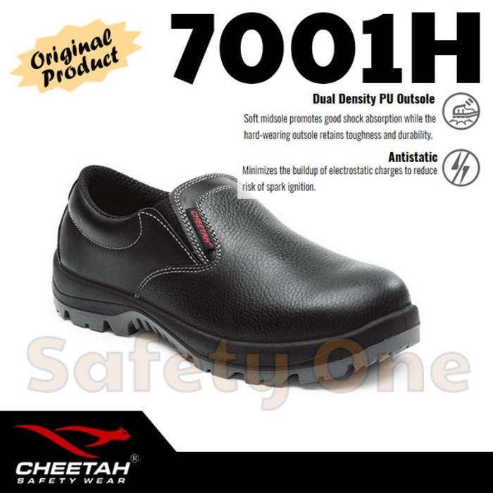 Cheetah 7001H - Sepatu Safety Shoes Ringan Anti Statis Ergonomis - Asvwto