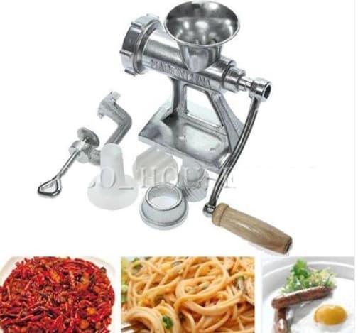 Mesin penggiling giling daging sayur buah beras manual