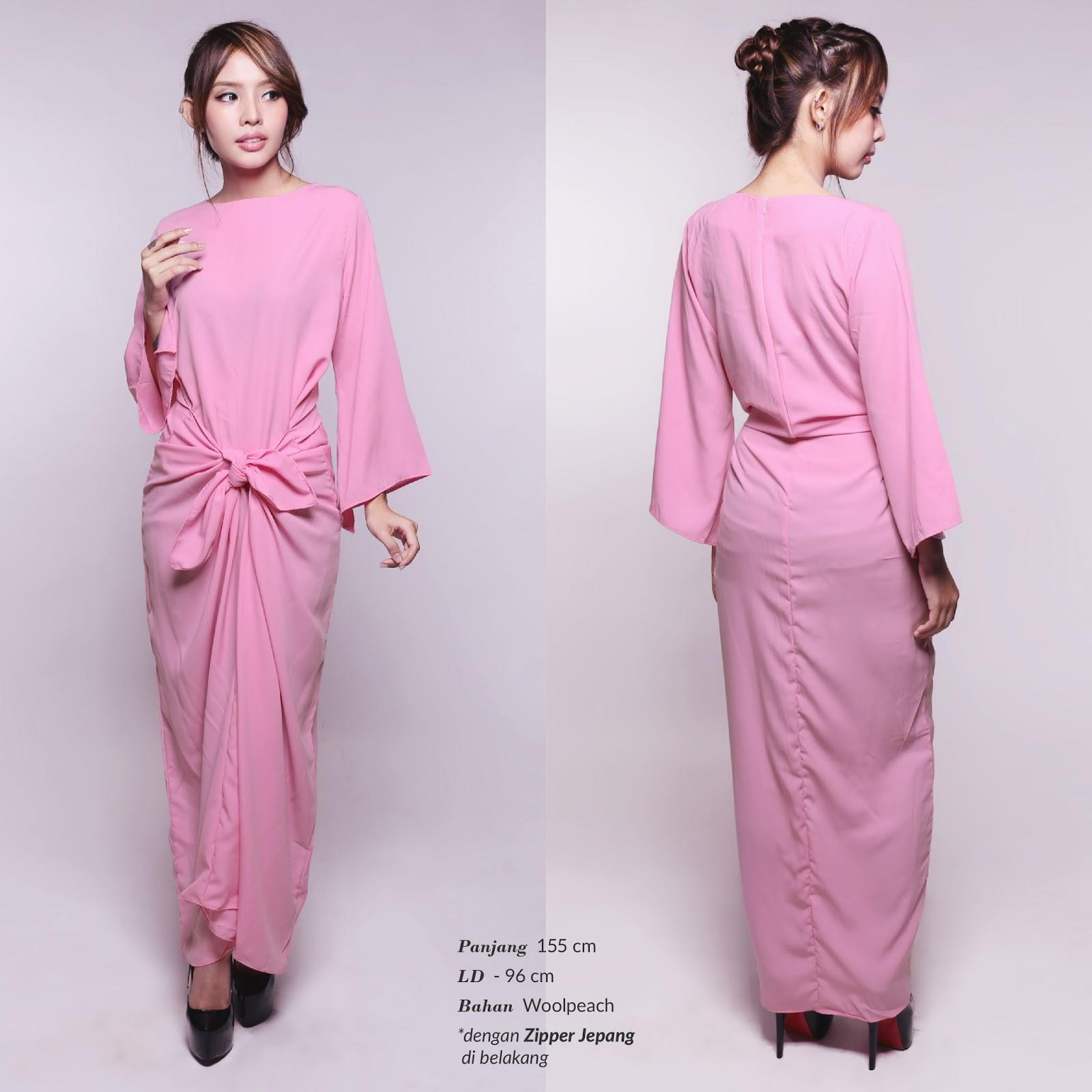 Kaftan Raisa Lebaran Muslim Dress DS923