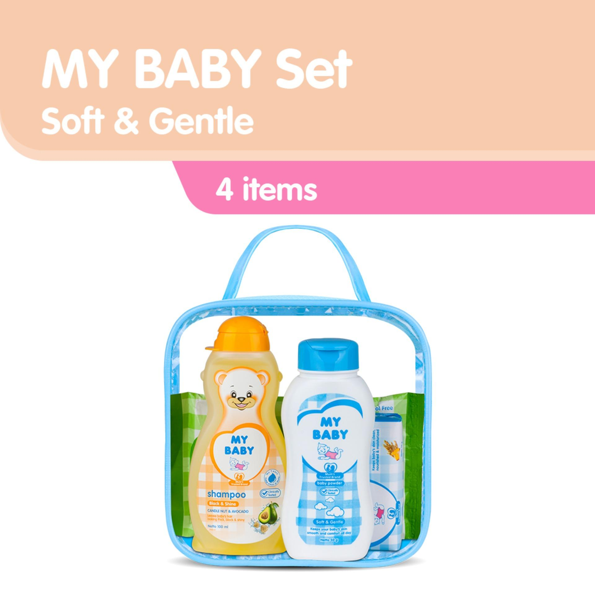 My Baby Set Soft & Gentle Perlengkapan Bayi By My Baby Official Store