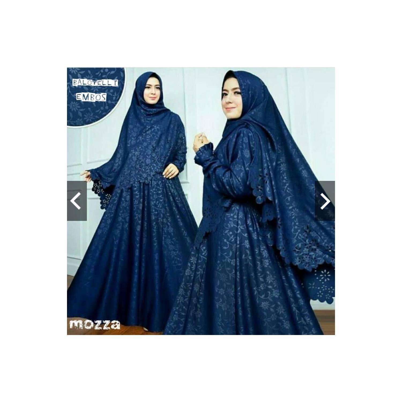 SALE Gamis Mozza Syari Baju Premium Muslim pakaian muslim pria wanita