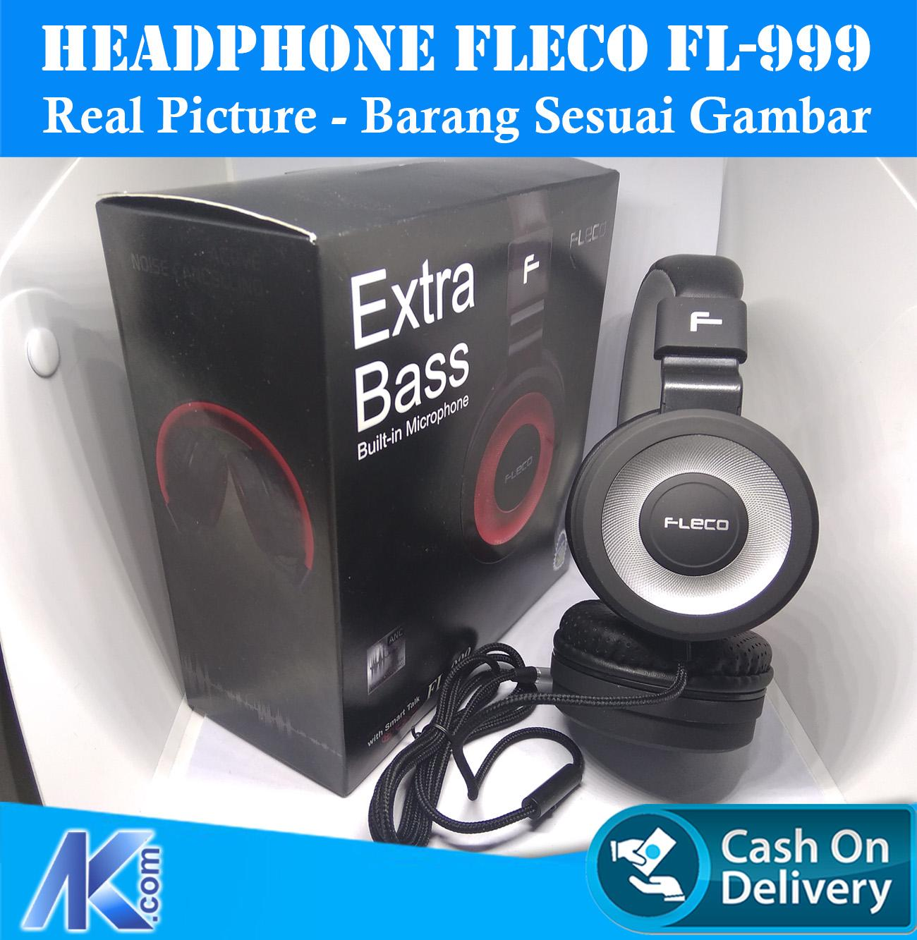 Fleco Original Super Bass Stereo Headset Handsfree Headphone Withmic Earphones Sumo Er 1 Sport Metal Music With Microphone Er1 Dijamin Nendang New Ready Stok Home Fl 999 Extra