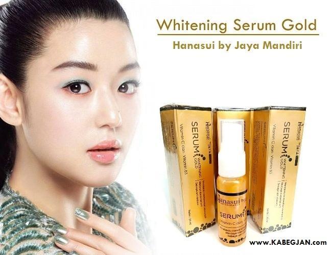HANASUI SERUM GOLD SERUM WHITENING GOLD BPOM JAYA MANDIRI - 1 pc